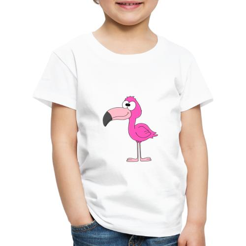 Lustiger Flamingo - Kind - Baby - Tier - Fun - Kinder Premium T-Shirt
