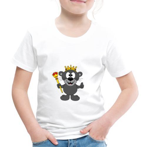 Lustiger Panther - König - Königin - Tier - Kind - Kinder Premium T-Shirt