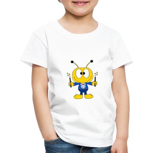 Lustige Biene - Bee - Zauberer - Magier - Fun - Kinder Premium T-Shirt