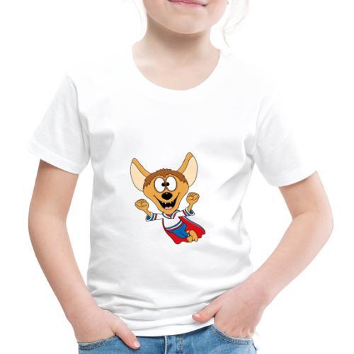 Lustige Hyäne - Superheld - Kind - Baby - Tier - Kinder Premium T-Shirt