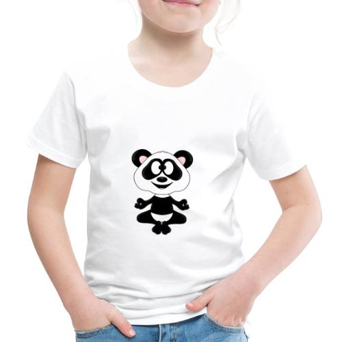 Panda - Bär - Yoga - Chillen - Relaxen - Tierisch - Kinder Premium T-Shirt
