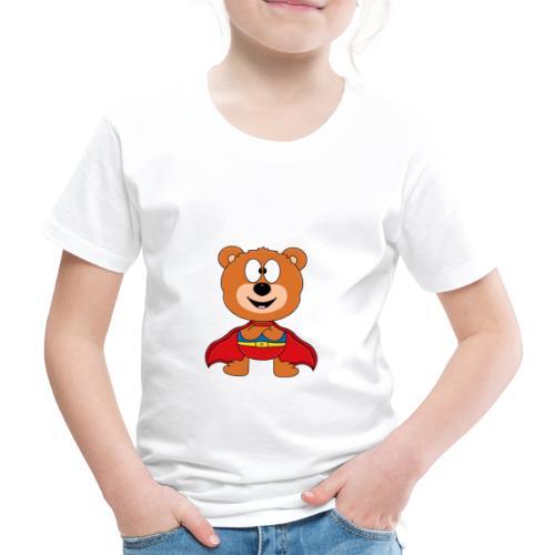 Teddy - Bär - Superheld - Kind - Baby - Tier - Kinder Premium T-Shirt