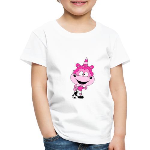Einhorn - Fußball - Spieler - Kind - Baby - Fun - Kinder Premium T-Shirt