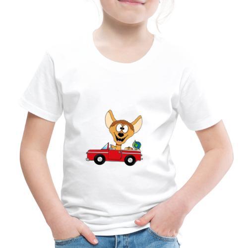 Hyäne - Auto - Reise - Urlaub - Tierisch - Fun - Kinder Premium T-Shirt