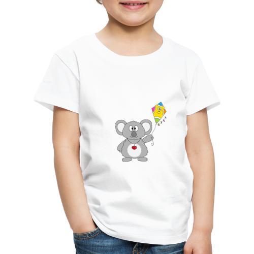 Panda - Drachen - Kite - Tier - Kind - Baby - Kinder Premium T-Shirt
