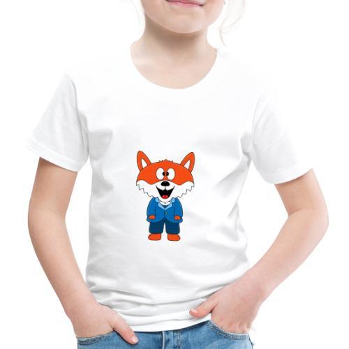 Fuchs - Bräutigam - Hochzeit - Heirat - Tier - Kinder Premium T-Shirt