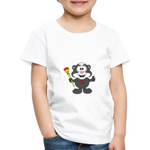 Stinktier - König - Königin - Tier - Kind - Baby - Kinder Premium T-Shirt