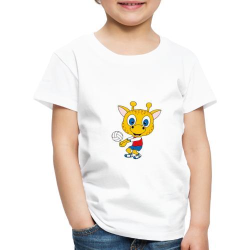 Giraffe - Volleyball - Sport - Tier - Kind - Baby - Kinder Premium T-Shirt