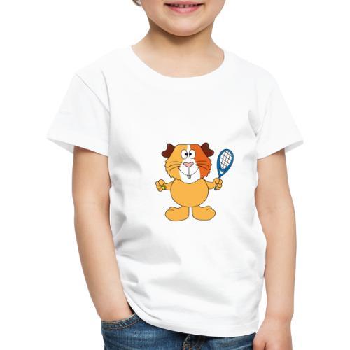 Meerschweinchen - Tennis - Sport - Tier - Kinder - Kinder Premium T-Shirt