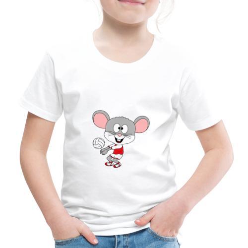 Maus - Volleyball - Sport - Tier - Kind - Baby - Kinder Premium T-Shirt