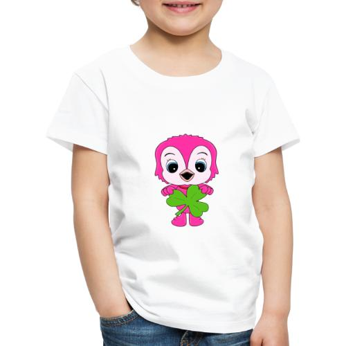 Eule - Kleeblatt - Vogel - Tier - Kind - Baby - Kinder Premium T-Shirt