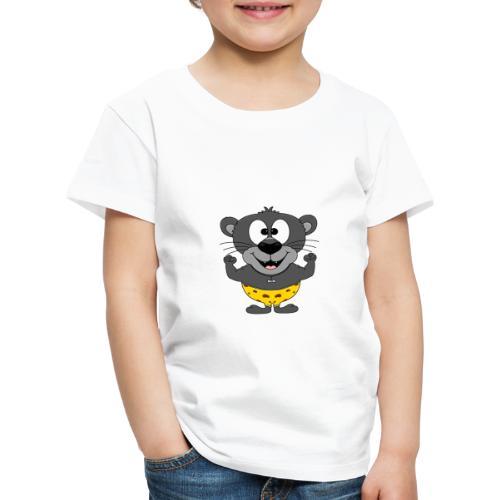 Panther - Fitness - Muskeln - Sport - Tierisch - Kinder Premium T-Shirt