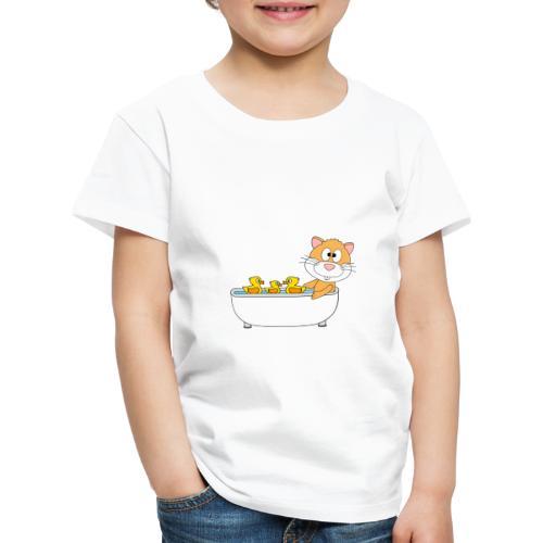 Hamster - Badewanne - Kind - Baby - Tier - Fun - Kinder Premium T-Shirt