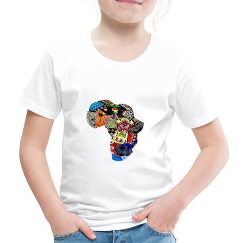 Afrique en Wax (Impression) - T-shirt Premium Enfant