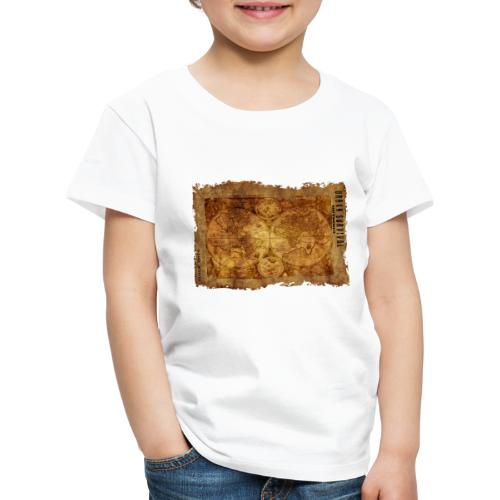 map of the world 2241469 1920 - Kinder Premium T-Shirt
