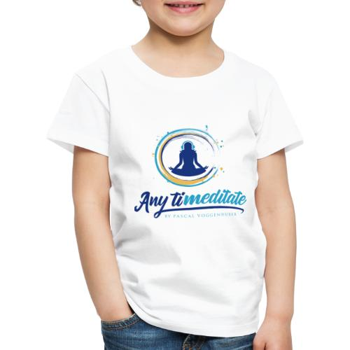 Any timeditate by Pascal Voggenhuber - Kinder Premium T-Shirt
