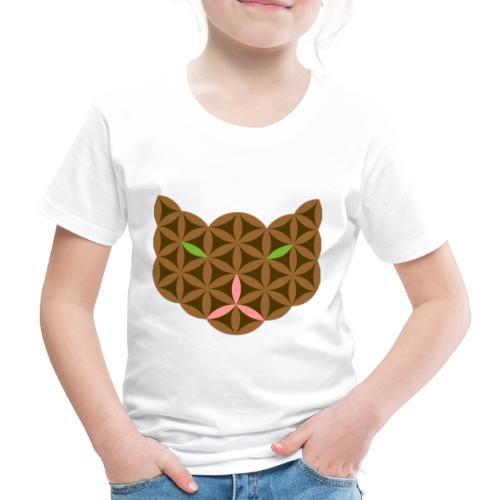 The Cat Of Life - Sacred Animals,C01, Brown. - Kids' Premium T-Shirt