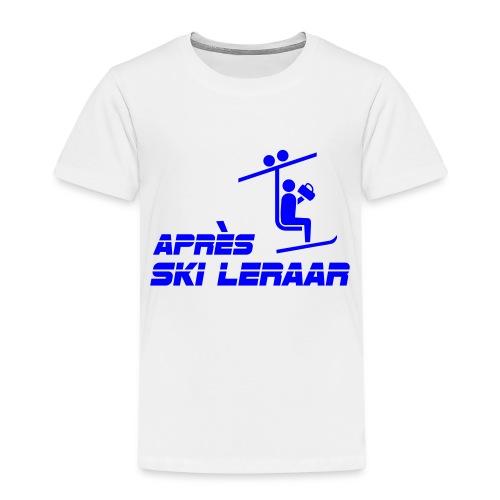 apres ski leraar - Kinderen Premium T-shirt