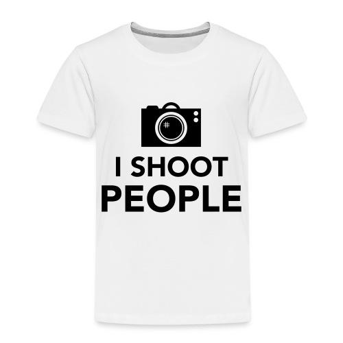 i-shoot-people - Kinderen Premium T-shirt