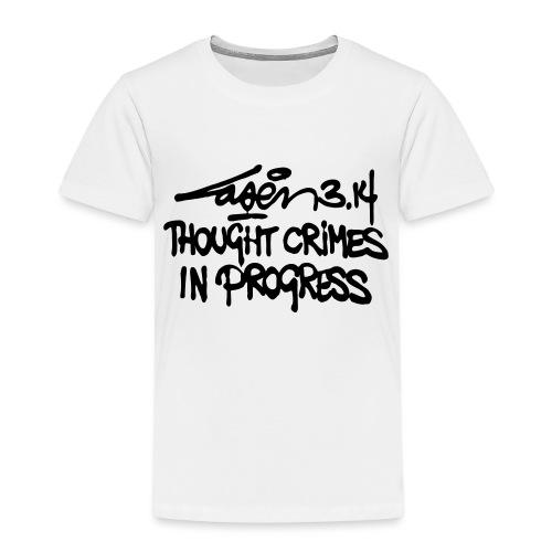Thought Crimes In Progres - Kids' Premium T-Shirt