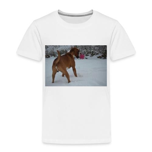 erster Schnee 158 JPG - Kinder Premium T-Shirt