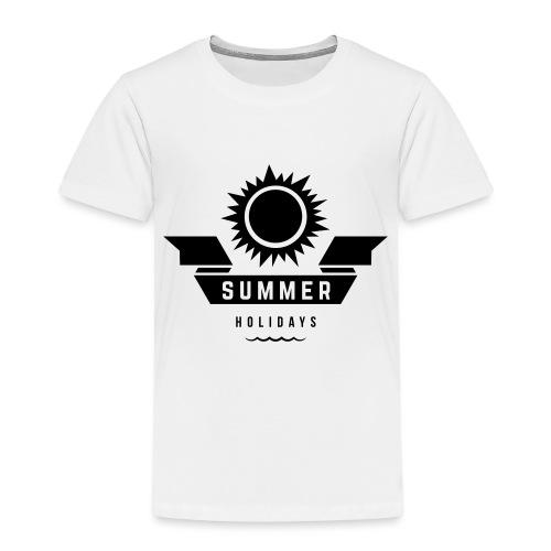 Summer holidays - Lasten premium t-paita