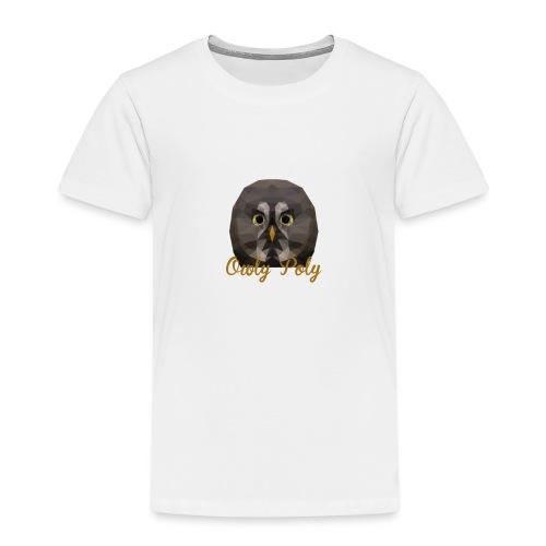 Owly Poly - T-shirt Premium Enfant