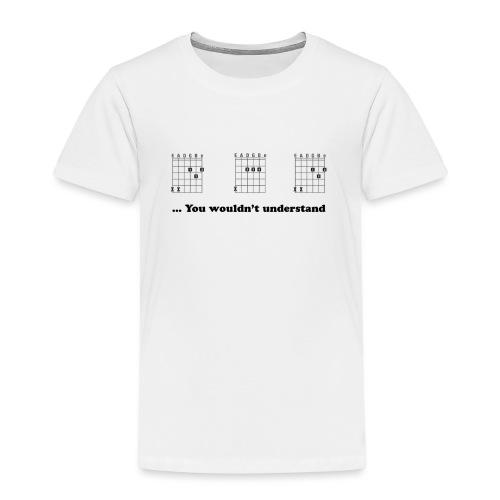 Daddy Shirt - Guitar - Kinderen Premium T-shirt
