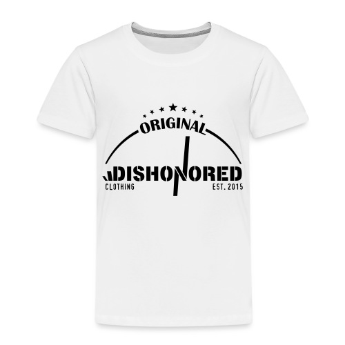 DISHONORED BROTHERS // BASIC SHIRT, BLACK AND RED - Kinder Premium T-Shirt