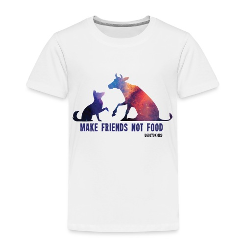 Make Friends Not Food #2 - Kids' Premium T-Shirt