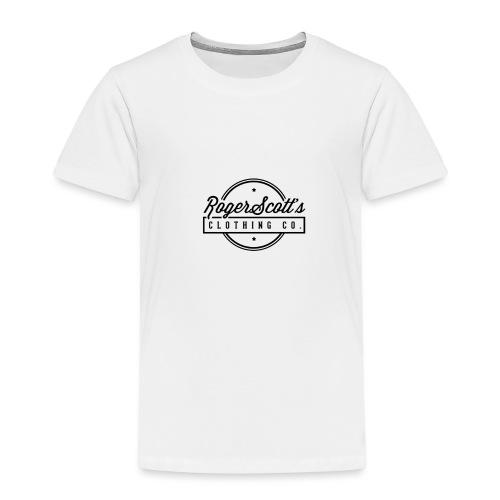 rogers copy png - Premium T-skjorte for barn