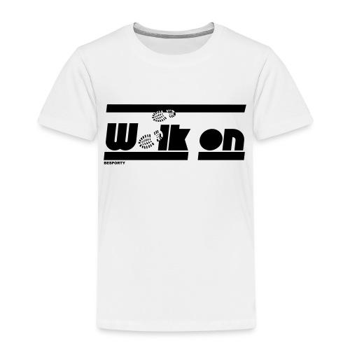 BESPORTY_WALK ON - Kinderen Premium T-shirt