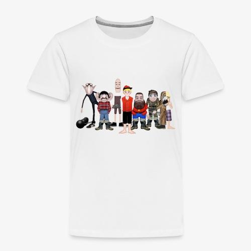 Askeladden og de gode hjelperne - Premium T-skjorte for barn