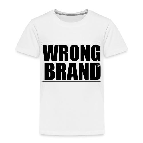 Wrong Brand: the ultimate brand parody - Kids' Premium T-Shirt