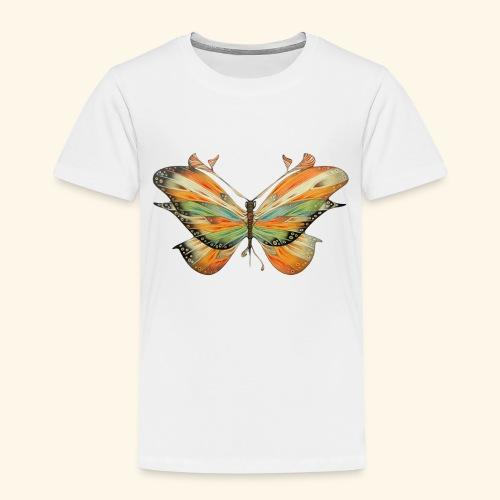 grande farfalla colorata - Maglietta Premium per bambini