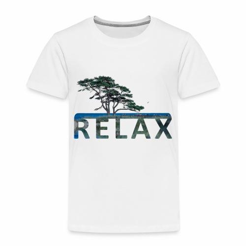 RELAX - unterm Baum am Strand - Kinder Premium T-Shirt