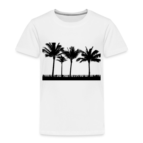 Palm trees - Premium-T-shirt barn