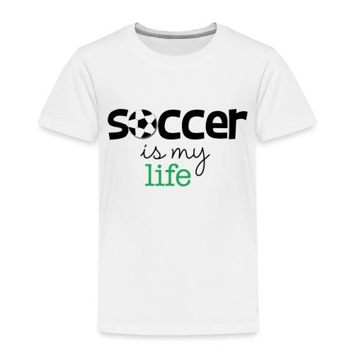 soccer is life - Camiseta premium niño