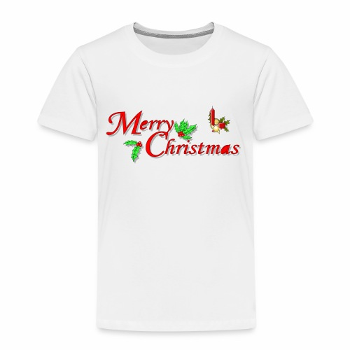 -Merry Christmas- - Kinder Premium T-Shirt