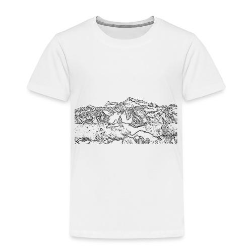 grossvenediger_schwarz - Kinder Premium T-Shirt