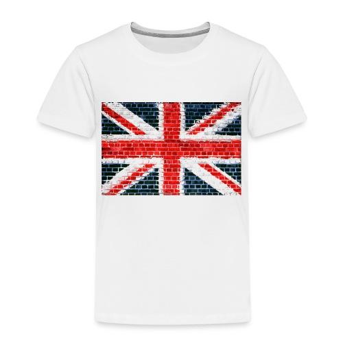 Union Jack Brick Wall - Kids' Premium T-Shirt