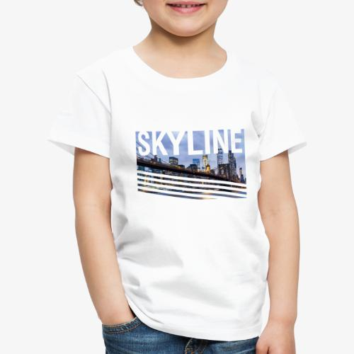 skyline - Camiseta premium niño