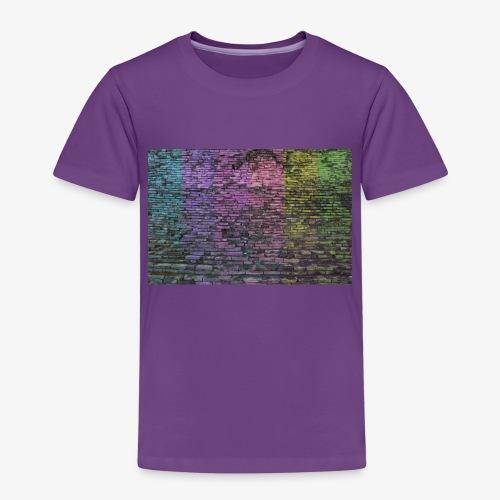 Regenbogenwand - Kinder Premium T-Shirt