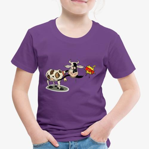 Vaquita - Camiseta premium niño
