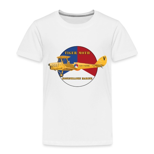 Tiger Moth Kon Marine - T-shirt Premium Enfant