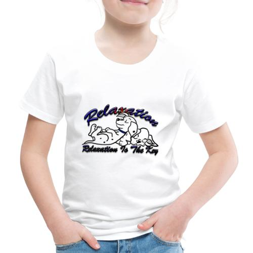 Relaxation Is The Key - Kids' Premium T-Shirt