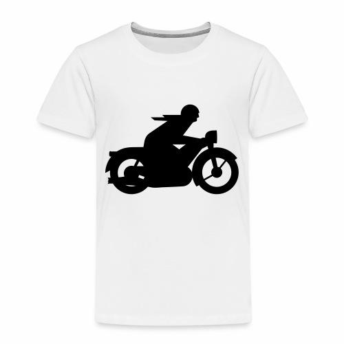 AWO driver silhouette - Kids' Premium T-Shirt
