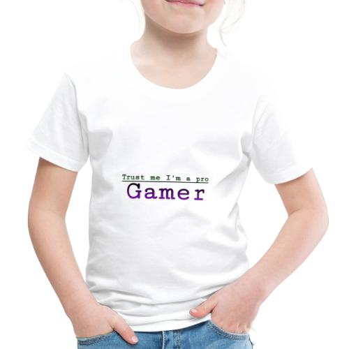 Trust me Im a pro gamer - Kids' Premium T-Shirt