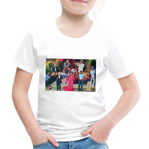 Sin musicos sin orquesta no hay salsa - T-shirt Premium Enfant