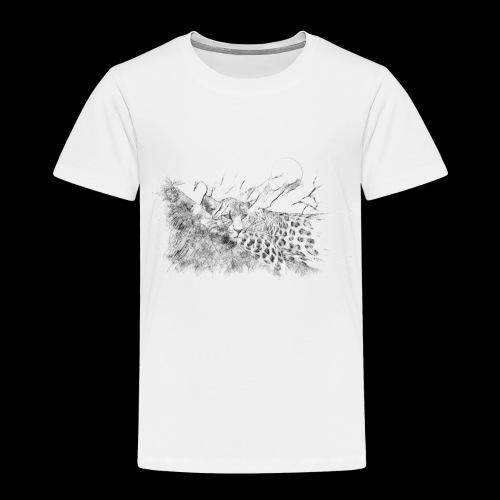 La panthère dans l'arbre - T-shirt Premium Enfant